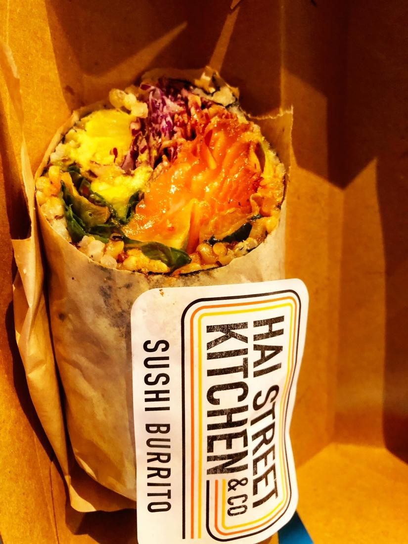 kyroshtravels.com - Sushi Burrito, Urbanspace Vanderbuilt Food Hall, New York City